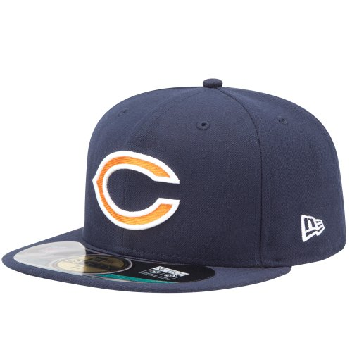 New Era NFL Chicago Bears Authentic On Field 59FIFTY Game Cap, Größe:7
