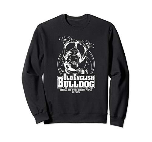 Lustiger Old English Bulldog coolest people Hund Hundespruch Sweatshirt