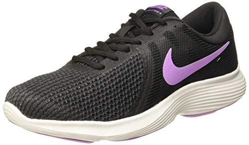 Nike Women's Revolution 4 Running Shoe (9 B(M) US, Black/Crimson Pulse/Anthracite)