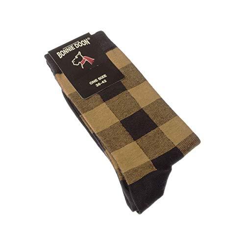 Bonnie Doon Socke mittelhoch - 1 paar - ohne Frotte - Mode - Fine - Coton - Multicolore - Lumberjack sock - 36/42