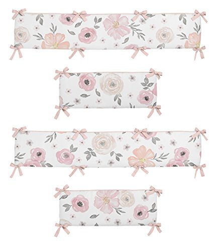 pink and white bumper - 1