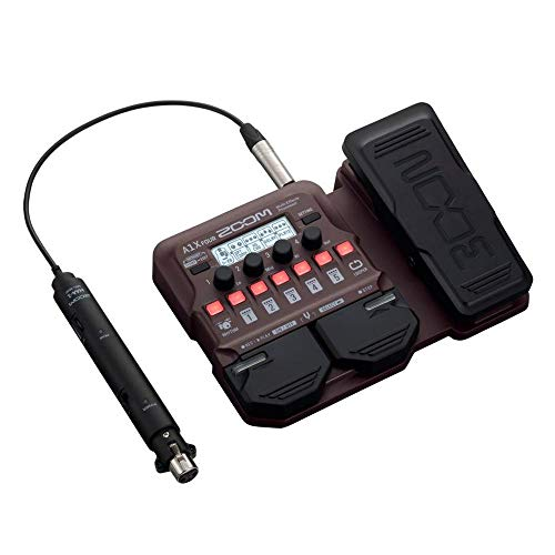 Zoom A1X FOUR Acoustic Guitar Multi-Effects Pedal