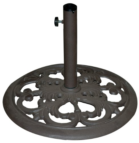 TropiShade 30-Pound Bronze Powder-Coated Cast Iron