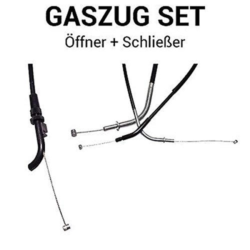 Gaszug Set Öffner + Schließer für Kawasaki ZZR 1100 C/D/G Kat
