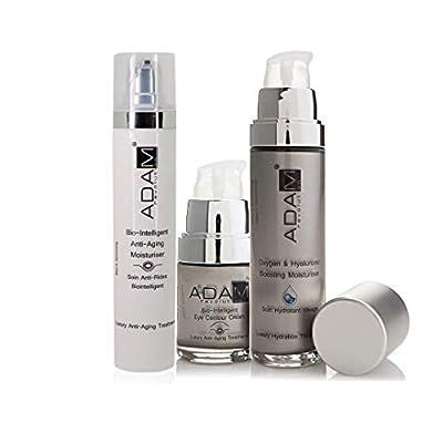 KIT for men: Bio-Intelligent Anti-Aging Moisturiser/Bio-Intelligent Eye Contour Cream/Oxygen & Hyaluronic Boosting Moisturiser from Skincare Industries