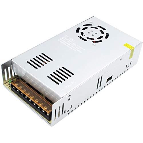 Alimentation 12V 30A Convertisseur de Commutation Transformateur 110/220V DC 360W pour CCTV, Radio, Imprimante 3D,Lumières LED, Projet Informatique