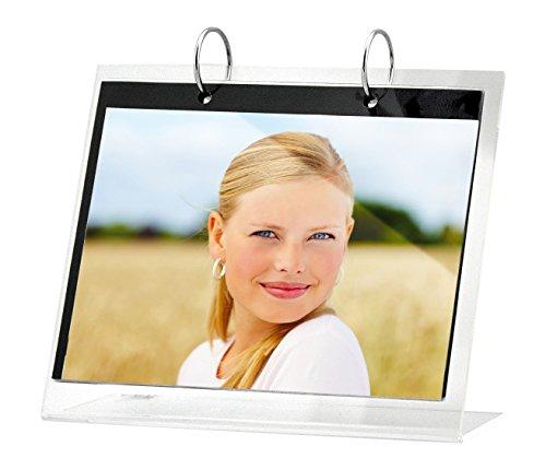ZEP Cork Acryl Fotorahmen oder Kallender für 13 Fotos 13 x 18 cm, transparent
