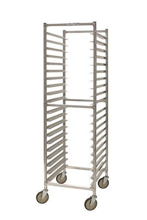 "PVIFS WE4018W W Series All Welded End Load Pan Rack, 15 Pan Capacity, 25"" Length x 20-1/4"" Width x 71-1/2"" Height"