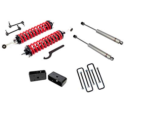 """Freedom Offroad 1996-2004 Tacoma 1-4"""" Lift Coilovers 3"""" Rear w/Shocks"""