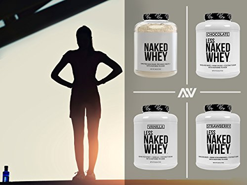 NAKED WHEY 5LB 100% Grass Fed Whey Protein Powder - US Farms, #1 Undenatured, Bulk, Unflavored - GMO, Soy, and Gluten Free - No Preservatives - Stimulate Muscle Growth - Enhance Recovery - 76 Servings 7