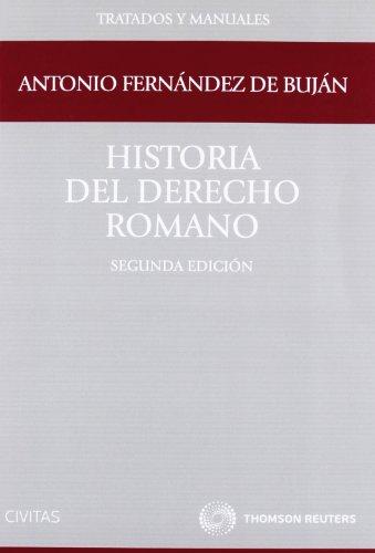Historia del derecho romano (Tratados y Manuales de Derecho)