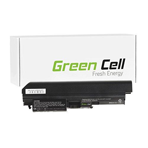 Green Cell Standard Serie Laptop/Tablet Akku für Lenovo IBM ThinkPad Z60t Z61t (6 Zellen 4400mAh 10.8V Schwarz, P/N: 40Y6791 40Y6793 92P1121 92P1125 92P1126)