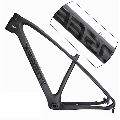 SJSF Y Cuadro De Bicicleta De Montaña De Carbono T800 Aero 29Er BB68 142 * 12MM 41.8 * 52MM Freno De Disco Ciclismo MTB Cuadros De Bicicleta,29 * 19 Inch