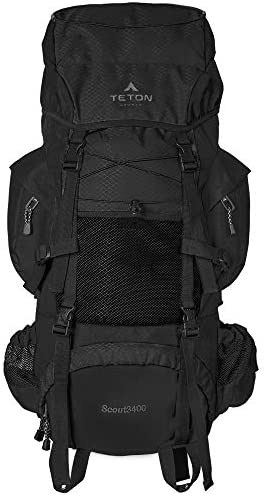 TETON Sports Scout 3400 Internal Frame Backpack; High-Performance Backpack for Backpacking, Hiking, Camping                Venture Pal 40L Lightweight Packable Travel Hiking Backpack Daypack                TETON Sports Oasis 1100 Hydration Pack; Free 2-Liter Hydration Bladder; For Backpacking, Hiking, Running, Cycling, and Climbing; Orange