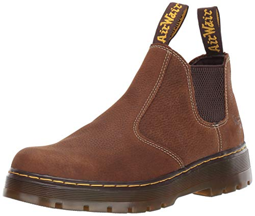 Dr. Martens Men's Hardie Boot, Whiskey, 12 Regular UK (13 US)