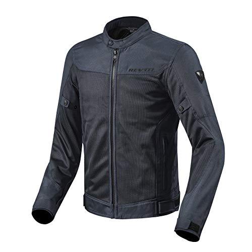 Revit Mesh-Jacke Eclipse Sommer Motorradjacke belüftet, dunkelblau, L
