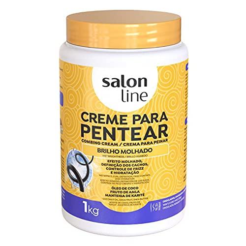 Salon Line Creme Pentear Brilho Molhado 1Kg