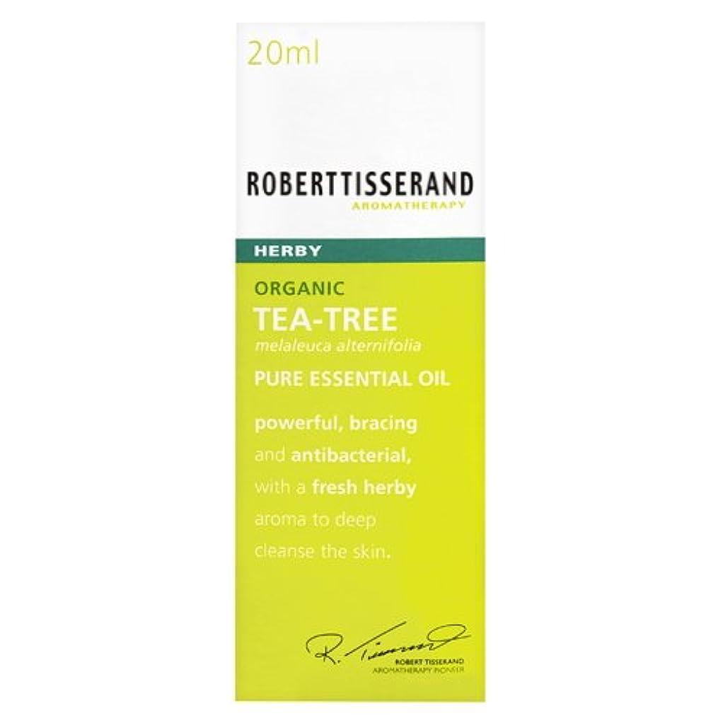 失敗かもめ相互接続ロバートティスランド 英国土壌協会認証 オーガニック ティーツリー(ティートリー) 20ml