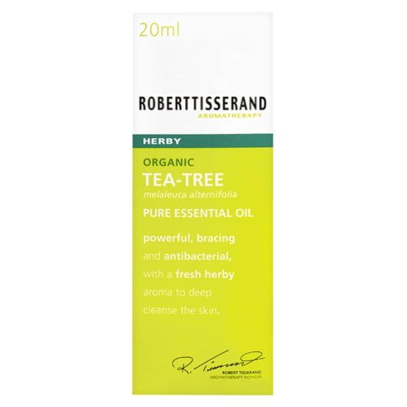 待ってウール単語ロバートティスランド 英国土壌協会認証 オーガニック ティーツリー(ティートリー) 20ml
