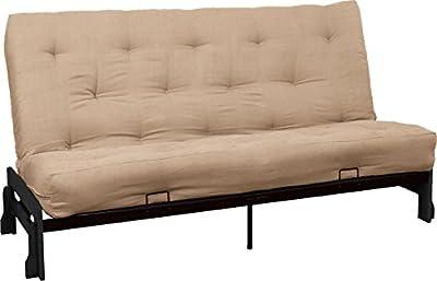 Epic Furnishings Bali True 8-inch Loft Cotton/Foam Futon Sofa Sleeper Bed
