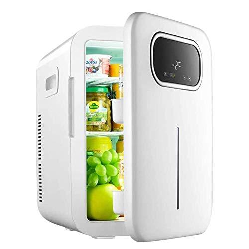 ZHHB 20L Kleiner Kühlschrank, Mini-Kühlschrank, Reise Kühlschrank Mit Digitaler Temperaturkontrolle, Kühler Und Wärmer Für Schlafzimmer, Kosmetik, Medikamente, Startseite