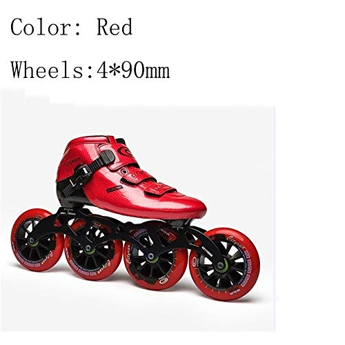Read About XIANGNAIZUI Inline Skates EUR Size 30-44 Carbon Fiber Professional Competition 490/100/11...