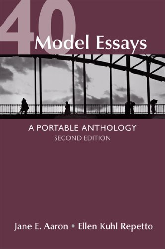Compare Textbook Prices for 40 Model Essays: A Portable Anthology Second Edition ISBN 9781457610240 by Aaron, Jane E.,Repetto, Ellen Kuhl