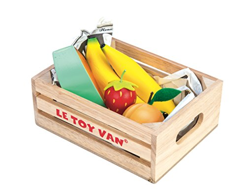 Le Toy Van- Panier Jouets, TV183, Fruits 5 a Day