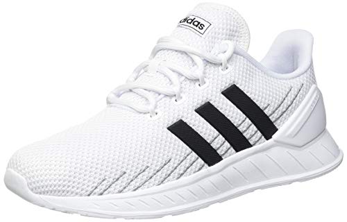 adidas Herren Questar Flow NXT Sneaker, Cloud White/Core Black/Grey, 42 2/3 EU
