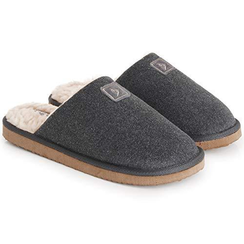 Dunlop Hombre Zapatillas Espalda Abierta Espuma Memoria Suela Carbón Talla 46 EU