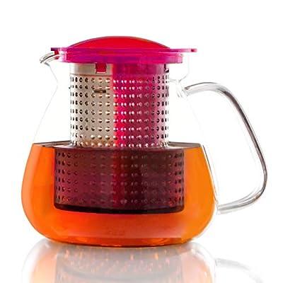 FINUM Tea Control Théière avec Filtre à thé Brew Control 1 l