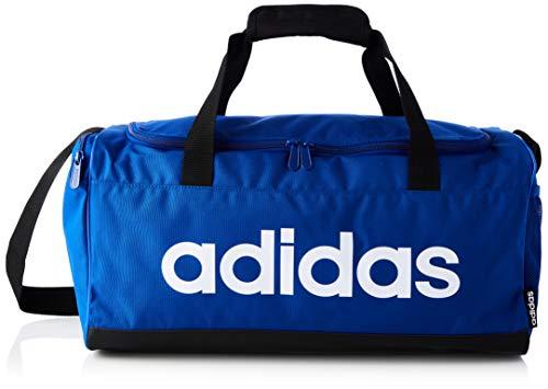 adidas Lin Duffle S, Borsa Sportiva Uomo, Royblu/Black/White, one size