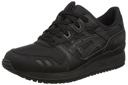 ASICS Gel-Lyte III H6B3N-9090-5, Baskets Basses Adulte Mixte, Noir Black 9090, 36.5 EU
