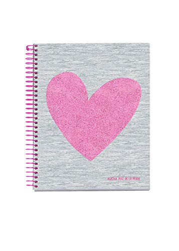 Miquelrius 46768 Cuaderno A5 120 Rayado Horizontal Love Agatha Ruiz de la Prada 🔥