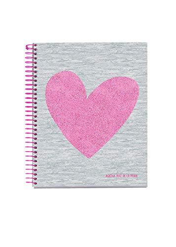 Miquelrius 46301 Cuaderno A7 100 Cuadrícula Love Agatha Ruiz de la Prrada
