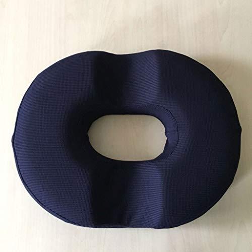 Ainaobaoybz Cojín para el Suelo, Cojines para Silla, Almohadilla de la próstata Hueca de Maternidad Postparto posparto de hemorroides Postparto 14x13 Pulgadas (Color café, 1 Paquete) (Color : D)