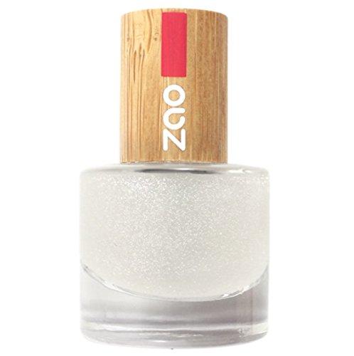 Zao - Bambus Nagellack - Nr. 665/Top Coat Glitter - 8 ml
