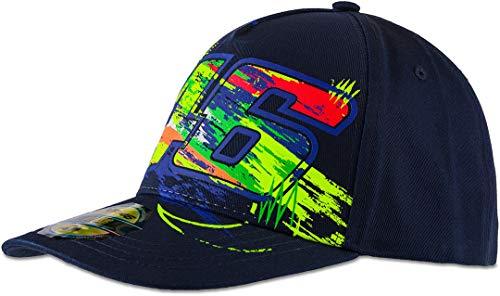 Valentino Rossi – Kollektion Vr46 Classic – Hut für Herren, Hut, CAPVR46C9, Blau, Einheitsgröße