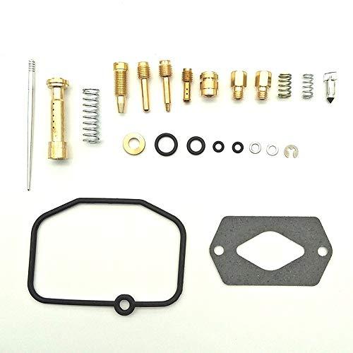 RUIXINLI Piezas de Repuesto del carburador Kit de reconstrucción de reparación de carburador de carbohidratos Compatible para Yamaha DTR 125 DT 125 DTRE 125 x Derbi GPR 125 Piezas de Repuesto
