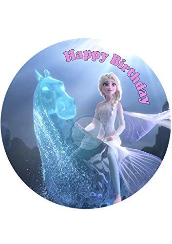 Tortenaufleger Tortenbild Geburtstag Frozen Die Eiskönigin Fondant 0238w