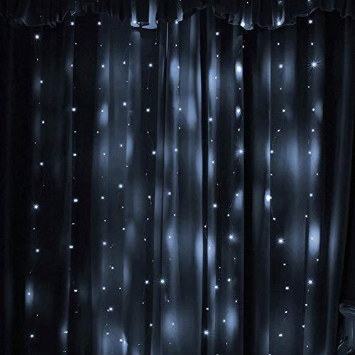 hong Cadena de Luces LED, Cadena de Luces de Interior Luz LED, Luces de Fiesta Cadena de Luces Decorativas para Fiestas Día de San Valentín Centro Comercial de Bodas(Cold White)