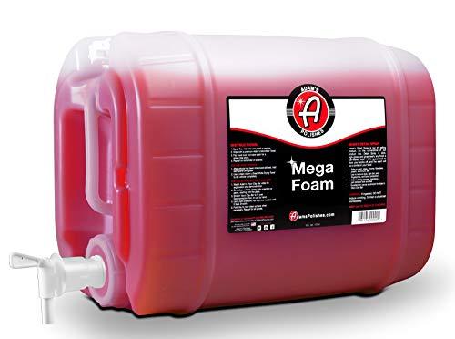 Adam's Mega Foam 5 Gallon- pH Best Car Wash Soap For Foam Cannon, Pressure Washer or Foam Gun |...