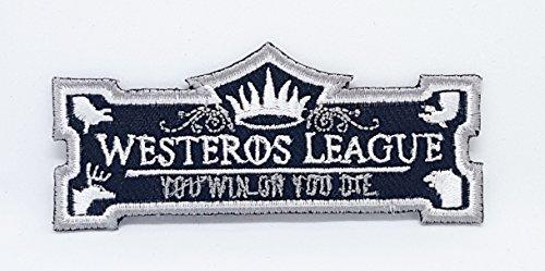Parche bordado coser planchar liga juego tronos Westeros