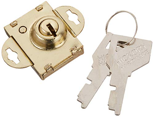 First Watch Security 1319 Mailbox Lock Polished Brass Finish