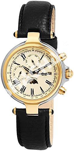 Engelhardt Herren Analog Mechanik Uhr mit Leder Armband 385714029028