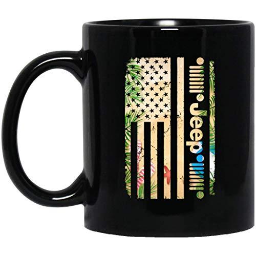NA Jeep Sommer Uns Flagge Kaffeetassen Jeep Liebhaber lustige Tasse Geschenke Keramik Kaffee - Teetasse super von HHH speichern Kaffeetasse