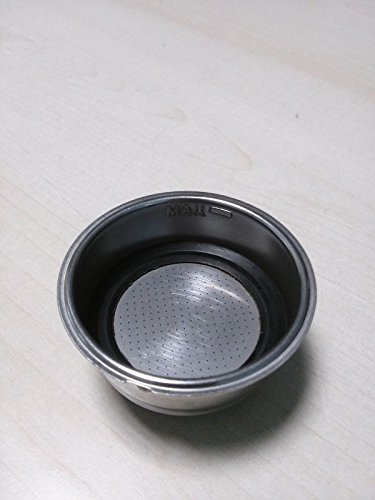 Ariete Filtro de copa 2 tazas para polvo cafetera Cremissima 1384
