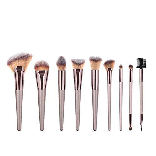 12shage 9 Pieces Pinceaux de Maquillage Set/Kit Cosmétique Brush Beauté Maquillage Brosse Makeup Brushes Cosmétique Fondation fond de teint, blush, correcteurs