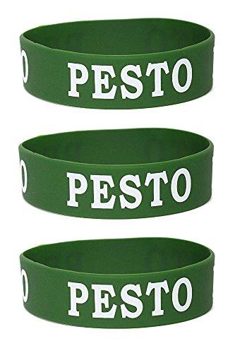 Pesto: Squeeze Bottle Label: Fits 16, 20, or 24 oz. Bottles: 3 Pack