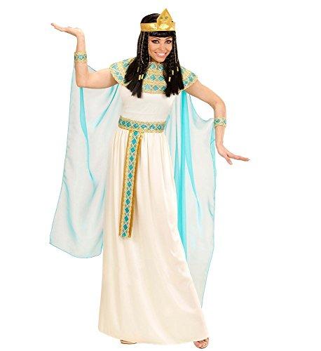shoperama Cleopatra - Disfraz de Cleopatra para mujer de alta calidad, talla S